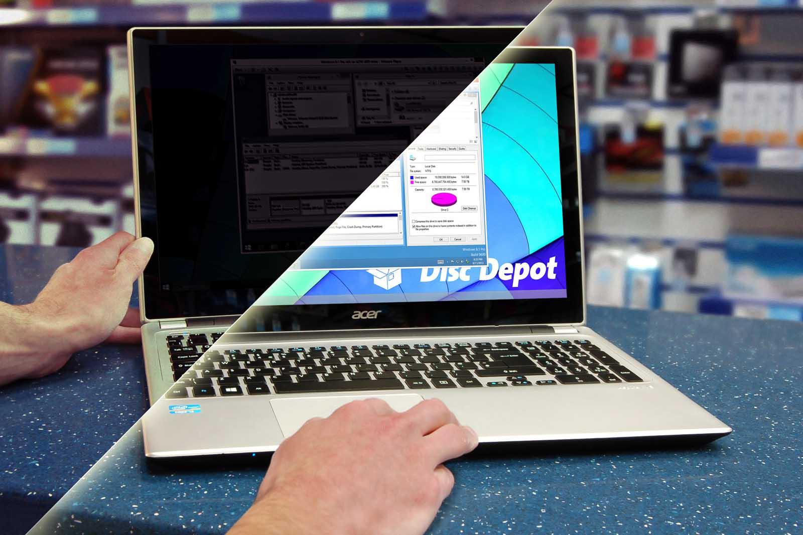 Laptop Inverter and Backlight Repair for Dim Screens | Disc